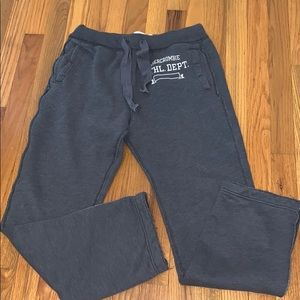 Abercrombie and Fitch sweat pants size small